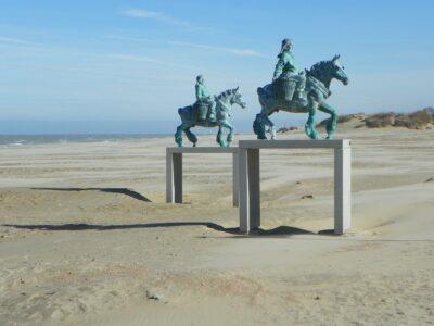 Belgische kust vissers
