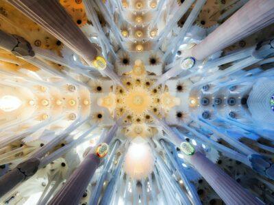 La Sagrada Familia Barcelona-binnen