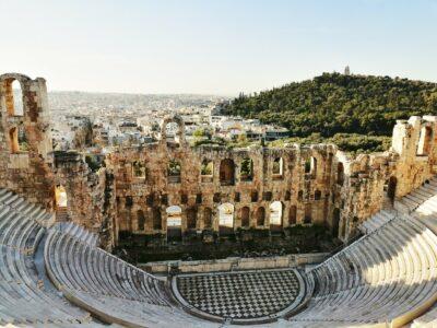 Odeon Herodes Atticus Dionysiou Areopagitou Athene