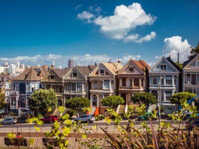 Painted Ladies huizen San Francisco