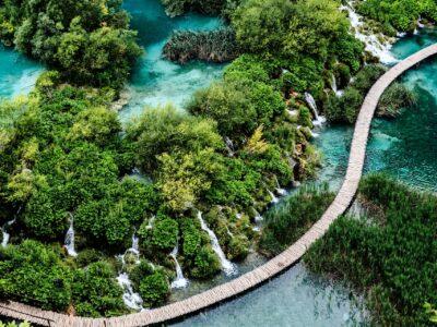 Reisgids Kroatië Plitvice meren