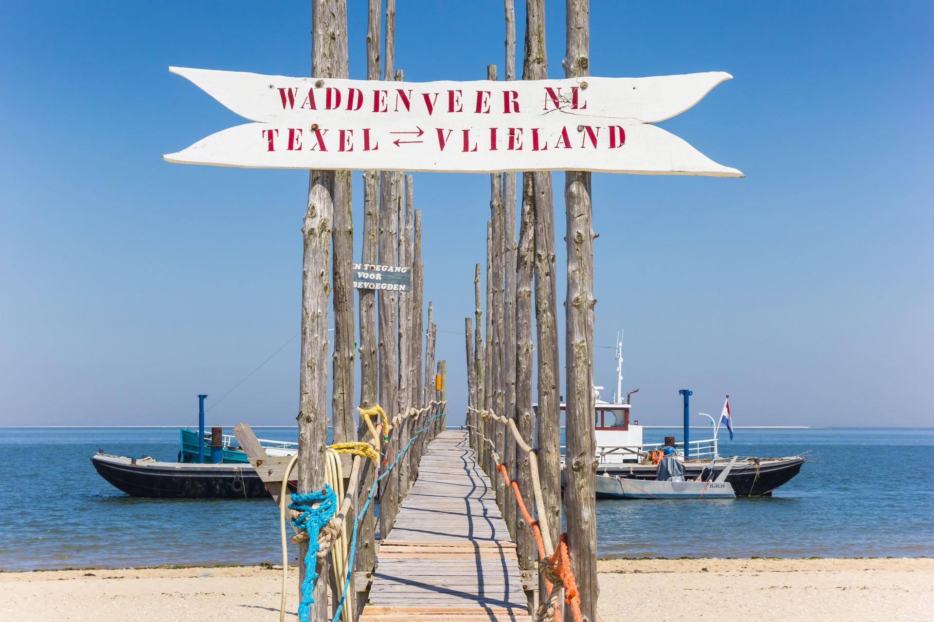 Overzet Vlieland naar Texel